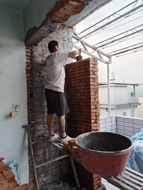 屏東陽台增建-屏東舊屋翻新-老屋翻修